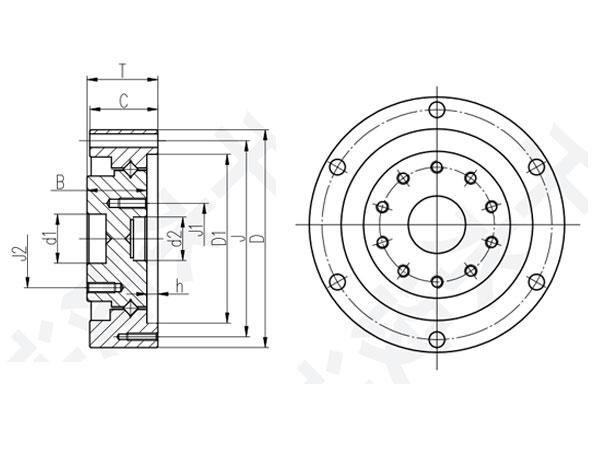 工业机器人轴承CSD型